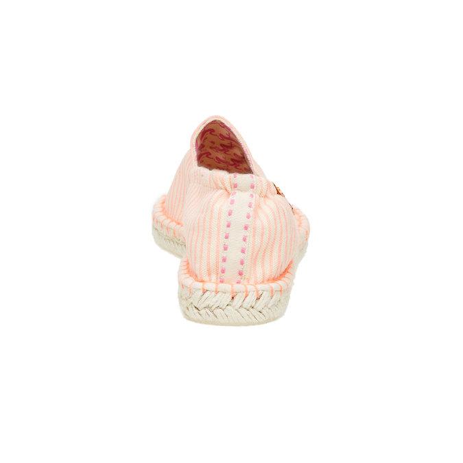 Dámská obuv typu Espadrilles bata, růžová, 559-5400 - 17