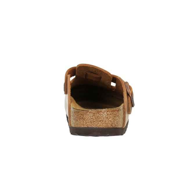 Kožené nazouváky s plnou špičkou birkenstock, 2018-566-3006 - 17