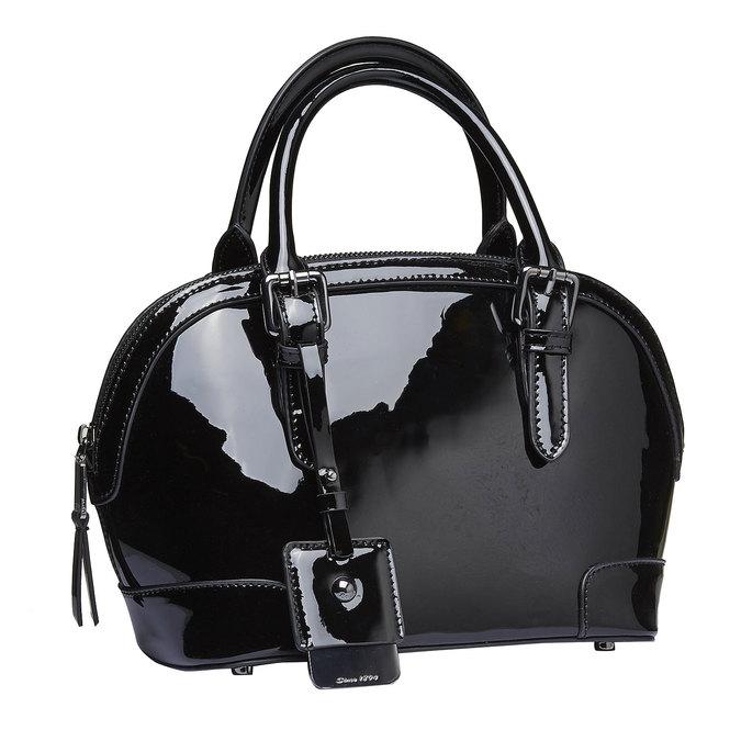Lakovaná dámská kabelka bata, 2021-961-6623 - 13