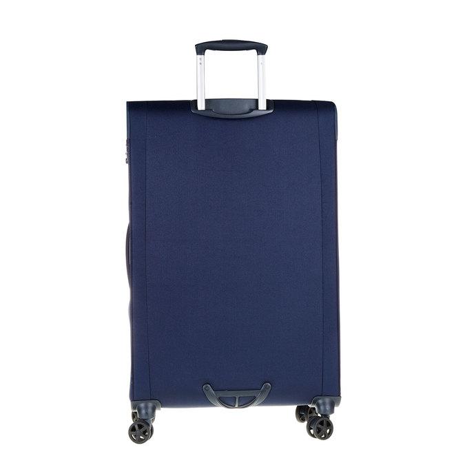 Textilní cestovní kufr na kolečkách samsonite, modrá, 969-9343 - 26