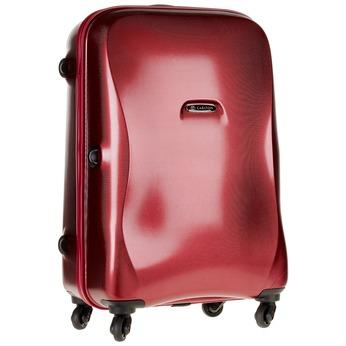 Skořepinový kufr na kolečkách carlton, červená, 960-5102 - 13
