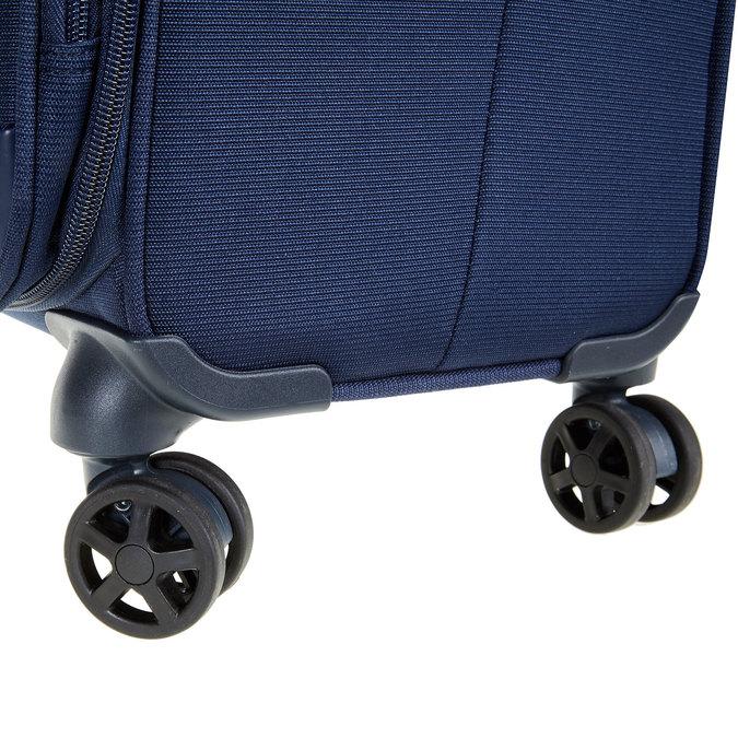 Textilní cestovní kufr na kolečkách samsonite, modrá, 969-9343 - 19