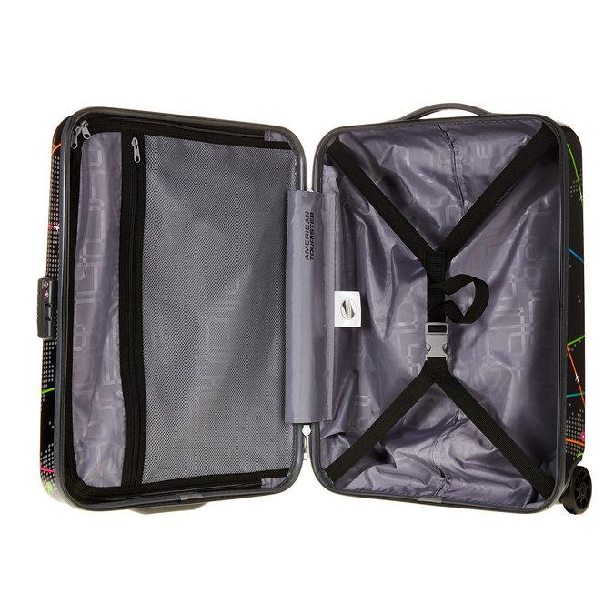 Skořepinový kufr s barevným potiskem american-tourister, černá, 960-6105 - 15