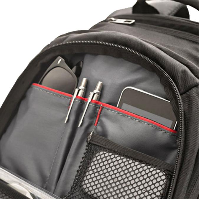 Kvalitní batoh na notebook samsonite, hnědá, 969-2397 - 17