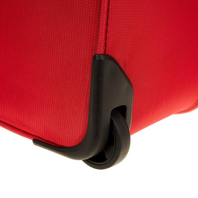 Kufr na kolečkách carlton, červená, 969-5146 - 19