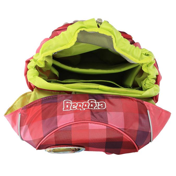 Dívčí školní batoh ergobag, červená, 969-5097 - 15
