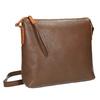 Kožená Crossbody kabelka weinbrenner, hnědá, 964-4193 - 13