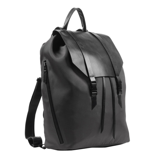 Černý batoh royal-republiq, černá, 964-6208 - 13