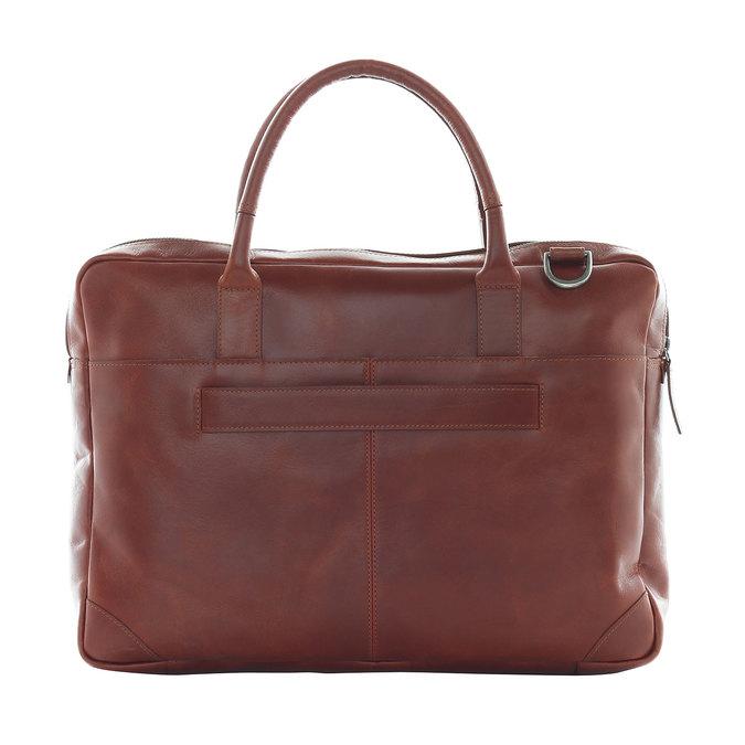 Kožená taška s popruhem royal-republiq, hnědá, 964-4199 - 15