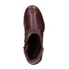 Dámská kožená zimní obuv bata, červená, 596-5347 - 19
