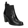 Dámská kotníčková obuv s prošíváním bata, černá, 694-6636 - 13