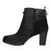 Dámská kotníčková obuv bata, černá, 796-6600 - 26