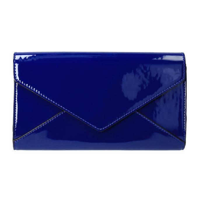 Modré dámské psaníčko bata, modrá, 961-9624 - 19