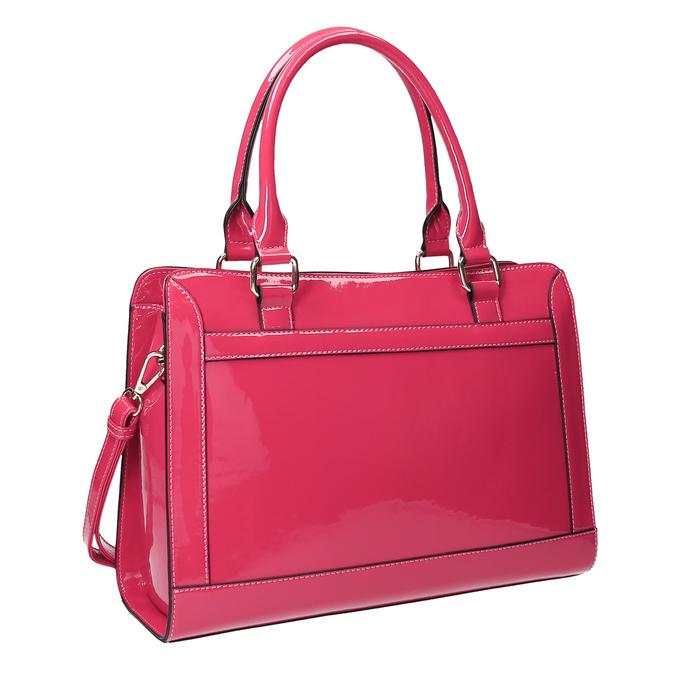 Růžová dámská kabelka bata, růžová, 961-1610 - 13