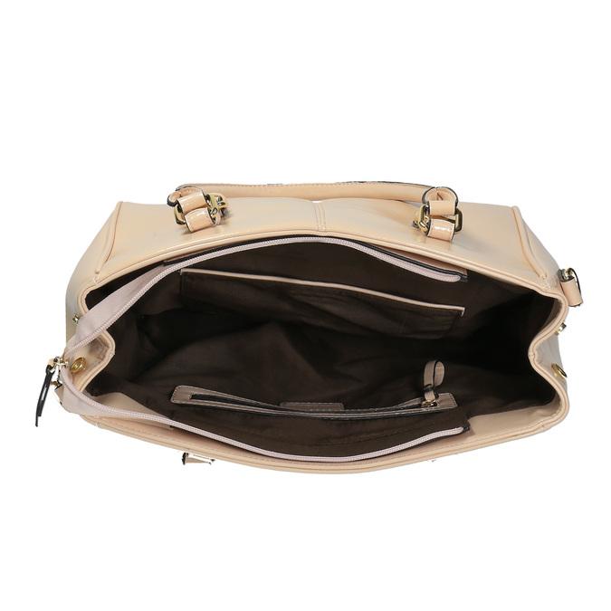 Dámská kabelka s pevnými uchy bata, béžová, 961-1619 - 15