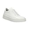 Bílé kožené tenisky bata, bílá, 528-1632 - 13