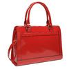 Lesklá červená kabelka bata, červená, 961-5610 - 13