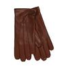 Kožené rukavice s vlněnou podšívkou junek, hnědá, 924-3026 - 13