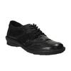 Dámské kožené tenisky bata, černá, 526-6601 - 13