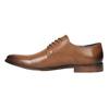 Pánské kožené polobotky bata, hnědá, 826-3643 - 26