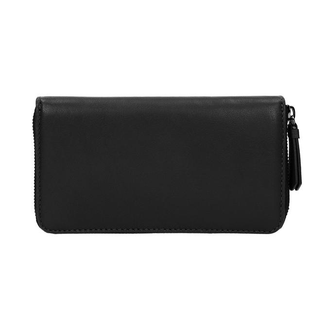 Dámská kožená peněženka černá bata, černá, 944-6165 - 19