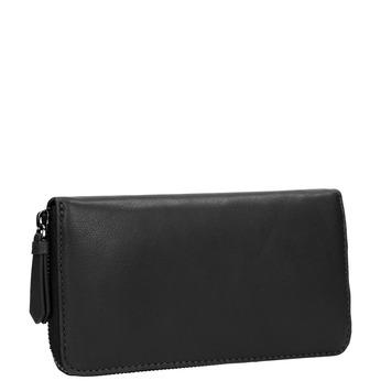 Dámská kožená peněženka černá bata, černá, 944-6165 - 13