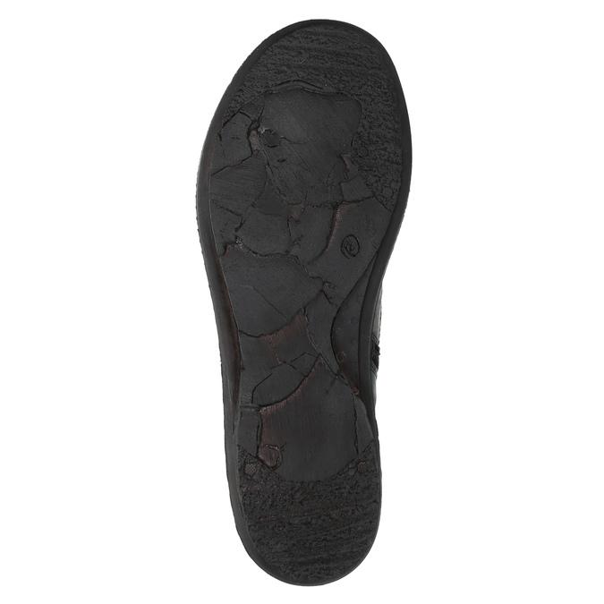 Dámská kotníčková obuv bata, modrá, 526-9602 - 26