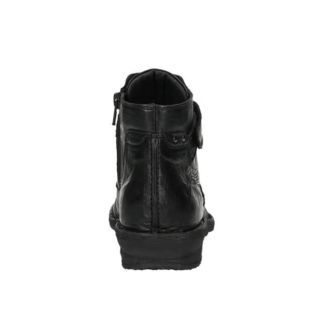 Dámská kotníčková obuv bata, černá, 526-6602 - 17