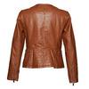 Dámská bunda s šikmým zipem bata, hnědá, 971-3186 - 26