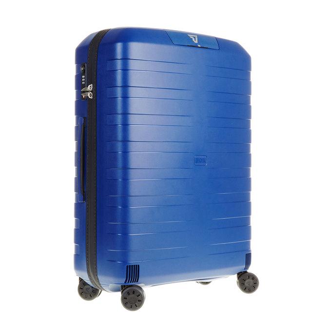 Modrý kufr na kolečkách roncato, modrá, 960-9604 - 13