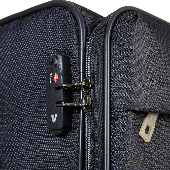 Cestovní kufr na kolečkách roncato, černá, 969-6637 - 17
