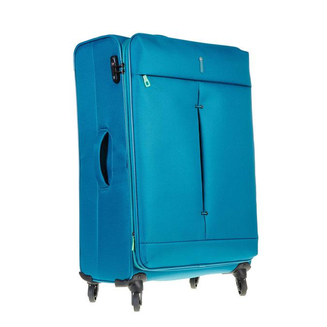 Modrý cestovní kufr roncato, tyrkysová, 969-7636 - 13