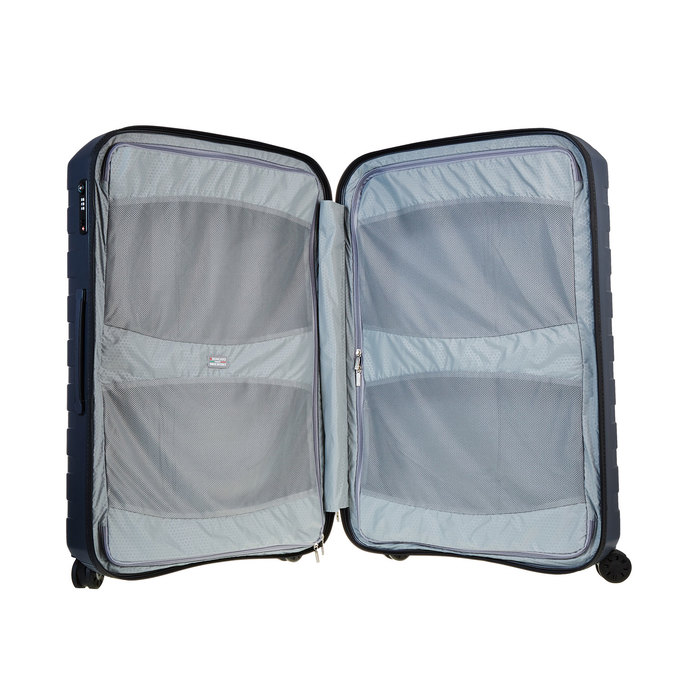 Skořepinový kufr na kolečkách roncato, modrá, 960-2603 - 15