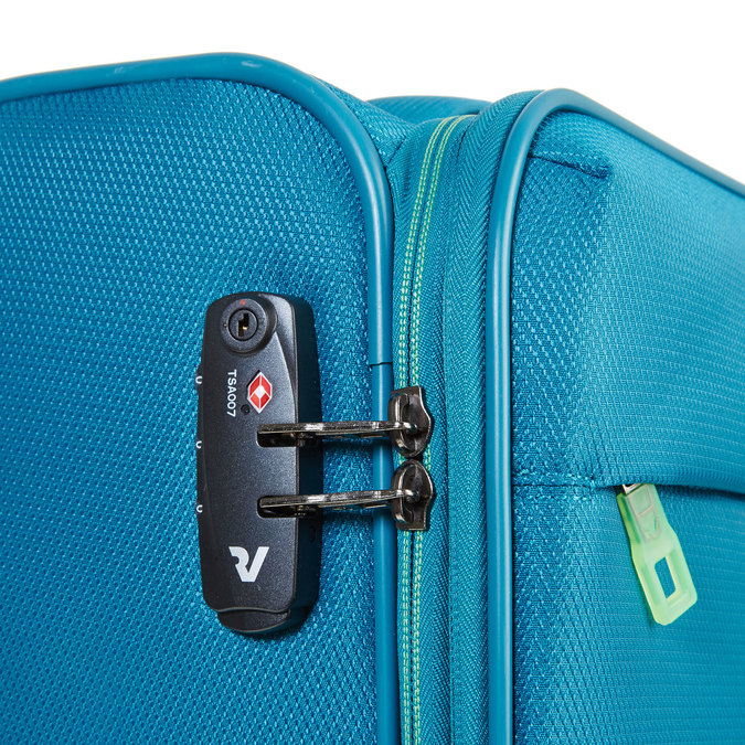 Cestovní kufrt na kolečkách roncato, tyrkysová, 969-7638 - 17