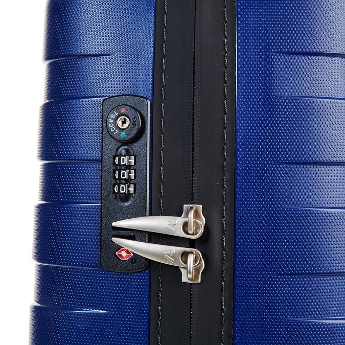 Modrý kufr na kolečkách roncato, modrá, 960-9605 - 17