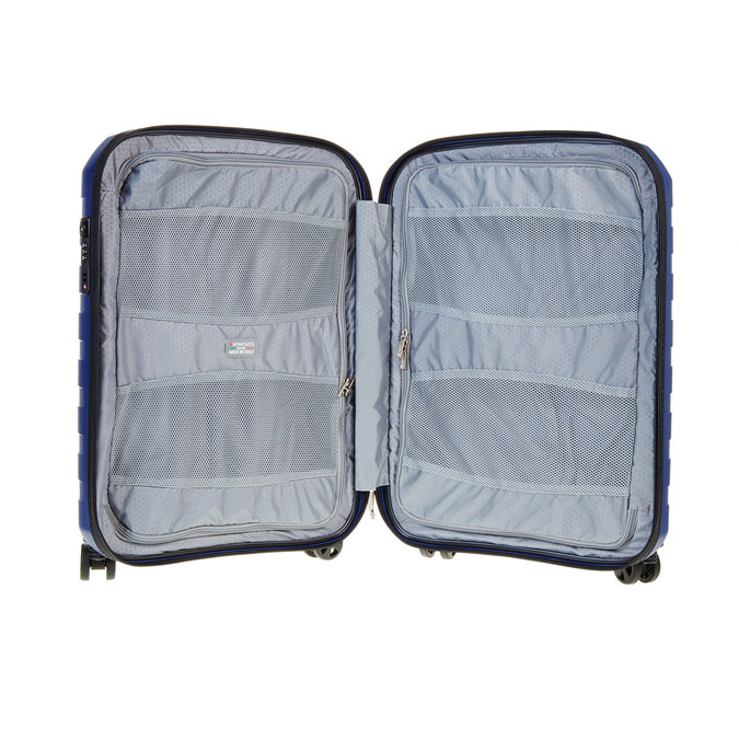 Modrý kufr na kolečkách roncato, modrá, 960-9605 - 15