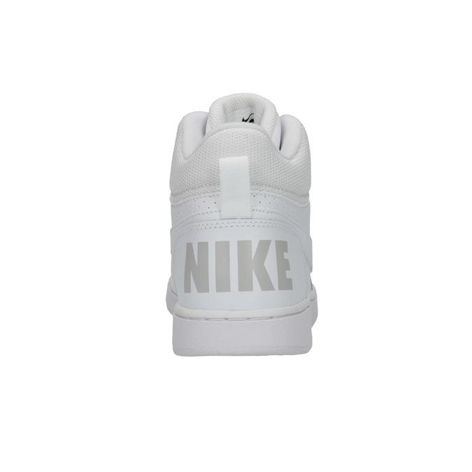 Bílé kotníčkové tenisky nike, bílá, 401-1237 - 17