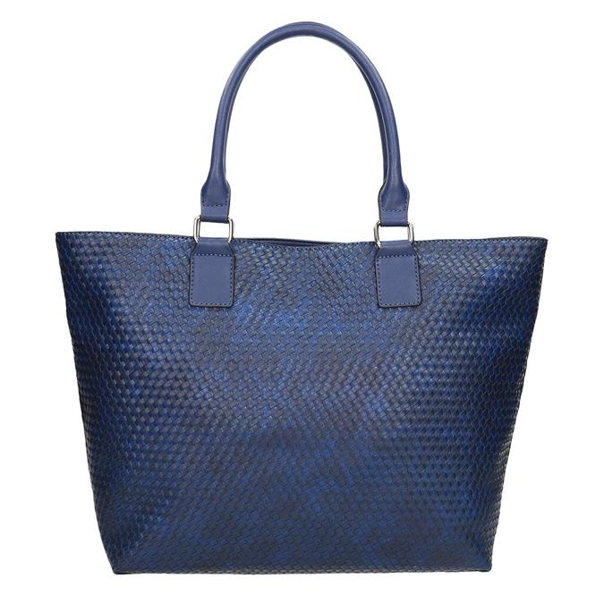Modrá dámská kabelka bata, modrá, 961-9651 - 26