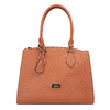 Hnědá elegantní kabelka s pevnými uchy bata, hnědá, 961-3646 - 19