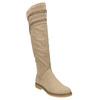 Kozačky nad kolena bata, béžová, 599-2602 - 13