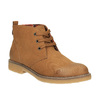 Dámská kotníčková obuv s barevnou podšívkou bata, hnědá, 599-4605 - 13
