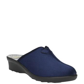 Dámská domácí obuv bata, modrá, 579-9602 - 13