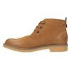Dámská kotníčková obuv s barevnou podšívkou bata, hnědá, 599-4605 - 26