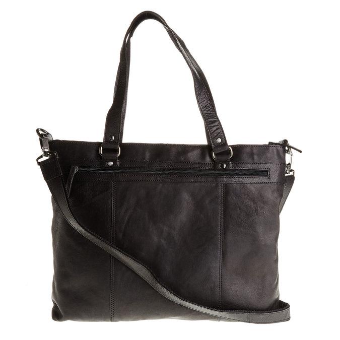 Kožená dámská kabelka bata, černá, 964-6132 - 26
