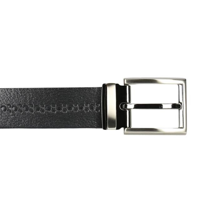 Pánský kožený opasek bata, černá, 954-6101 - 26