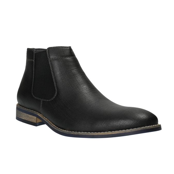 Pánské černé Chelsea Boots bata, černá, 891-6601 - 13