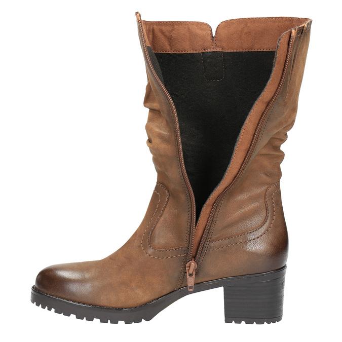 Dámská kotníčková obuv bata, hnědá, 696-3127 - 19