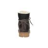 Dámská kožená zimní obuv weinbrenner, hnědá, 594-4491 - 17