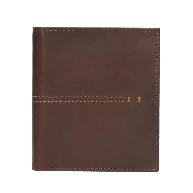 Prošívaná pánská peněženka bata, hnědá, 944-3176 - 26