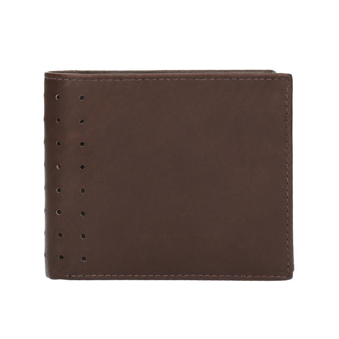 Pánská kožená peněženka bata, hnědá, 944-4175 - 26